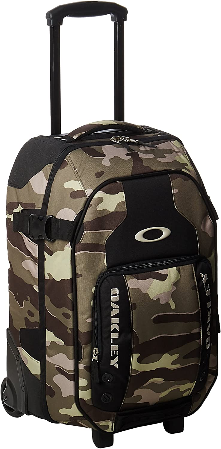 Oakley 92278 799 Olive Camo Carry On Roller 22 L X 9 5 D X 14 H Luggage Bag Amazon Ca Luggage Bags