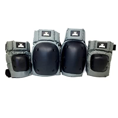 Darkstar Skateboards Pro Knee and Elbow Pads - M/L : Knee Braces : Sports & Outdoors