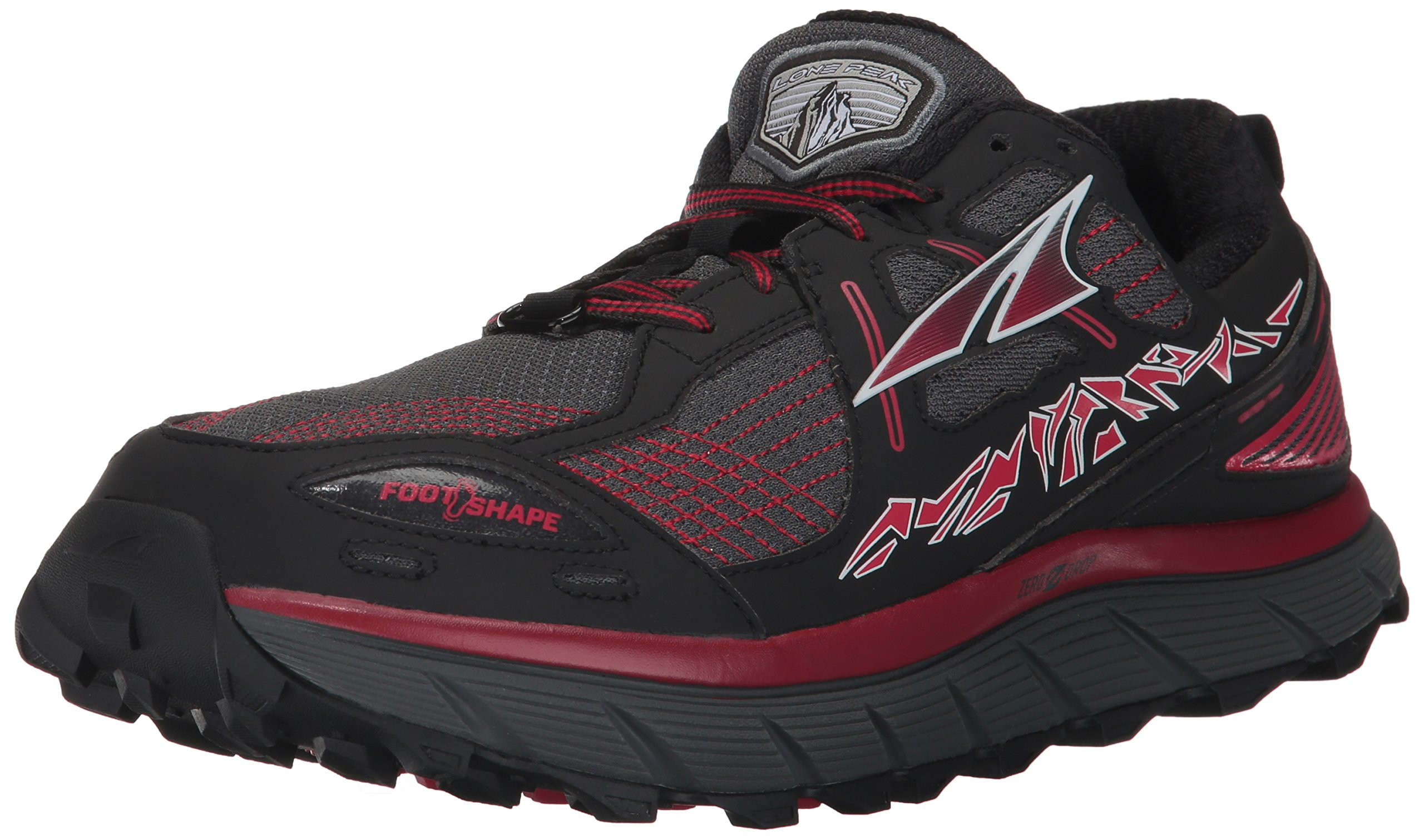 Altra Men's Lone Peak 3.5 Running Shoe, Red, 8.5 D US by Altra