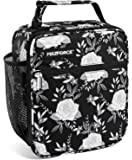 MAZFORCE Original Lunch Box Insulated Lunch Bag - Tough & Spacious Adult Lunchbox to Seize Your Day (Black Rose - Lunch…