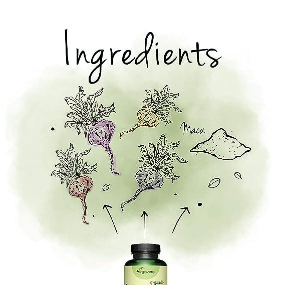 BIO Maca Andina Vegavero® | LAS 4 RAÍCES | Ahora También 270 Cápsulas | 3000 mg | 120 Cápsulas | SIN ADITIVOS | Estimulante Natural + Energía + ...