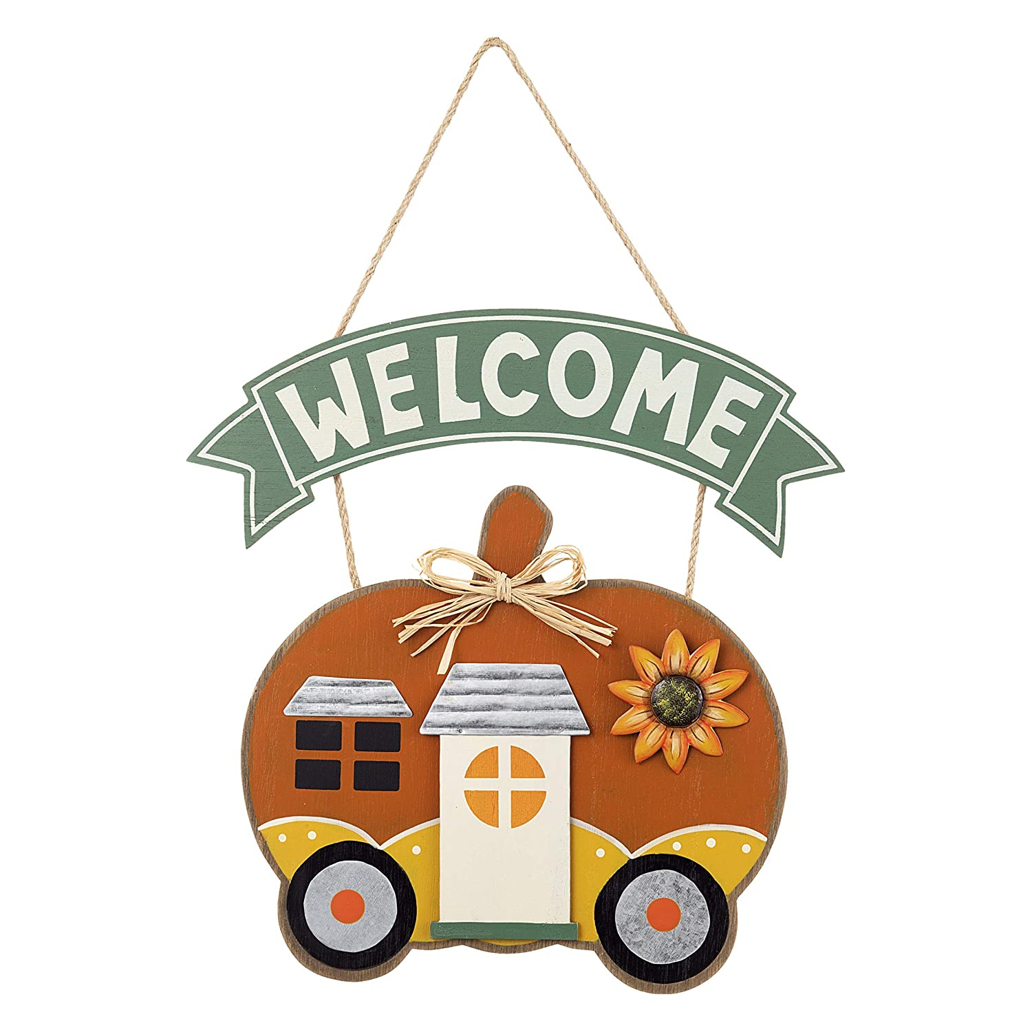 Top Grade Goods Fall Harvest Thanksgiving Welcome Sign