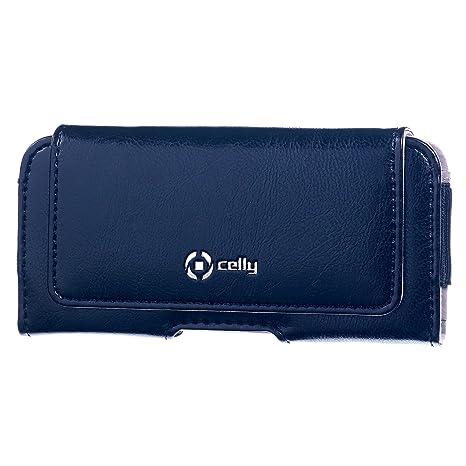 codice promozionale 4152b d69d9 Celly Custodia Orizzontale per Cintura Style XL, Blu