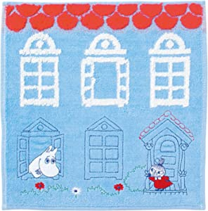 hand towel Little My 25 x 25cm house 100% cotton applique embroidery 1405013600