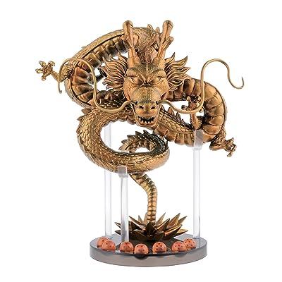 Banpresto - Figurine DBZ - Dragon Shenron Gold Edition Limitée15cm - 761568292541