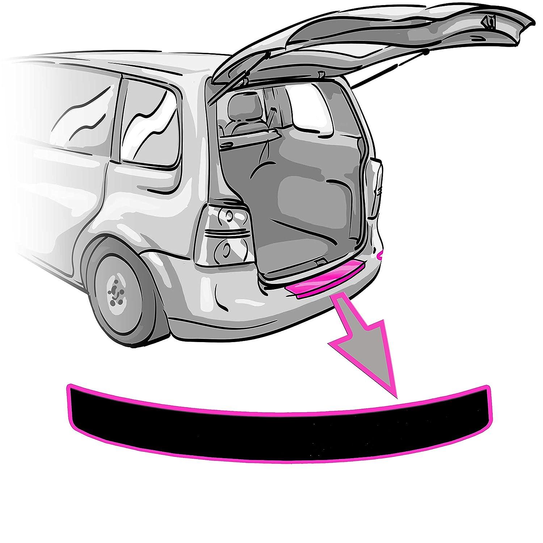 KUGA II Ladekantenschutz Lackschutzfolie + RAKEL + ANLEITUNG 2 in MATT SCHWARZ Folie - passend für KUGA II 2 – Schutzfolie von CCW© CCW - CAR CARBON WRAPPING