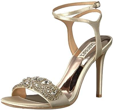 8803177c292 Amazon.com  Badgley Mischka Women s Hailey Heeled Sandal  Shoes