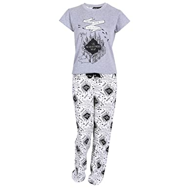 739f3d0d4e349 Harry Potter - Ensemble de pyjama - Femme gris gris - gris -: Amazon ...