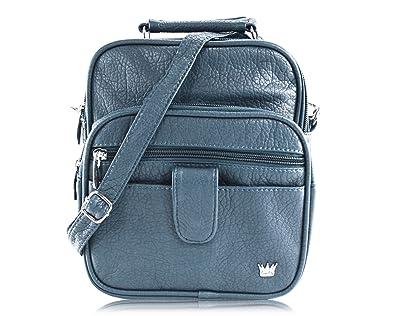 Purse King Grand Lily Cross Body Bag (Slate Green)  Handbags  Amazon.com b9a23ea073f4c