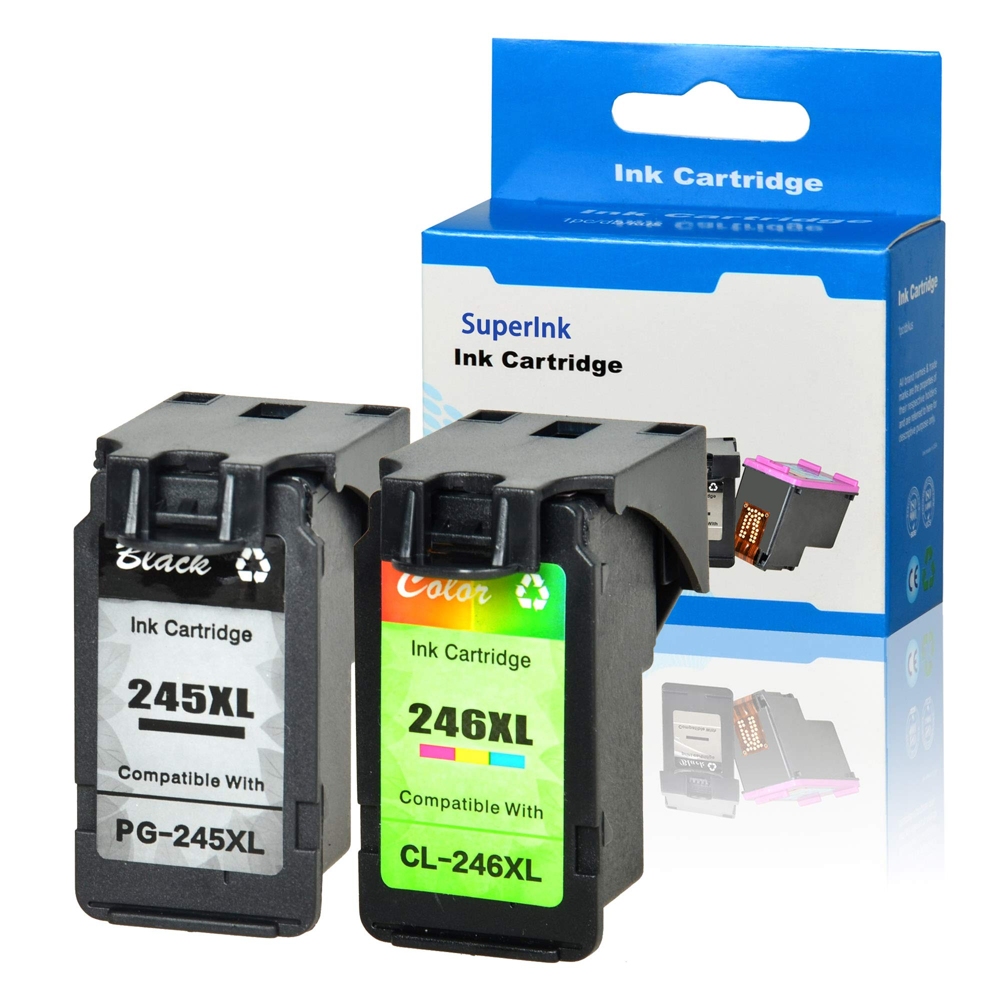 Gallop Remanufactured PG245XL PG-245XL Ink Cartridge Replacement for Canon PIXMA MX492 MX490 MG2420 MG2520 MG2522 MG2920 MG2922 MG3022 MG3029 iP2820 Show Accurate Ink Level 1 Black