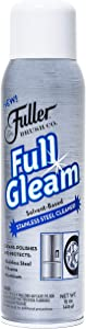 Fuller Brush Full Gleam Stainless Steel Cleaner - Chrome & Aluminum Conditioner Spray For Cleaning Pots, Pans, Cooktop & Kitchen Appliances - Easy Clean & Polish For Home & Business