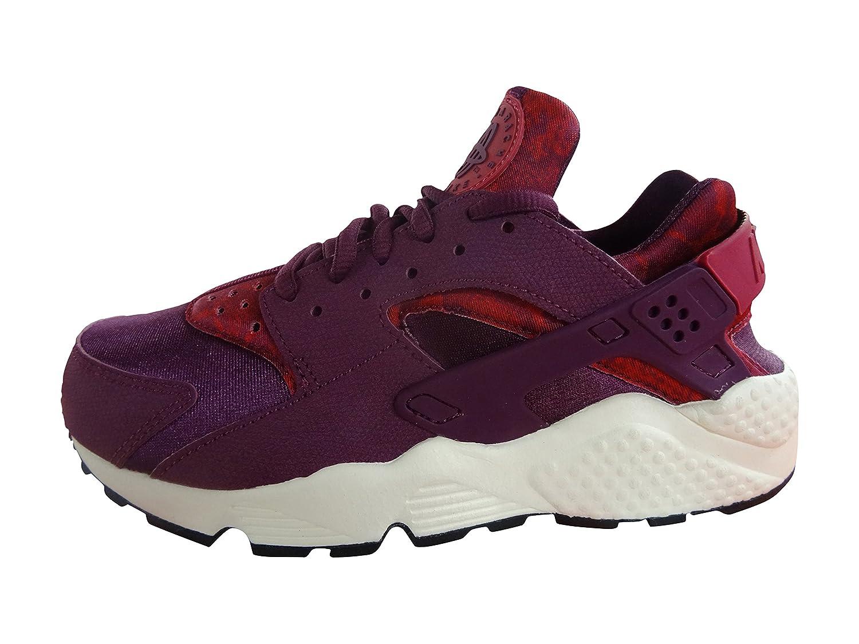 buy popular f840c 9a3ef Amazon.com  NIKE Womens air Huarache Run Print Running Trainers 725076 Sneakers  Shoes (US 5.5, Mulberry Sport Fuschia Black sail 500)  Shoes
