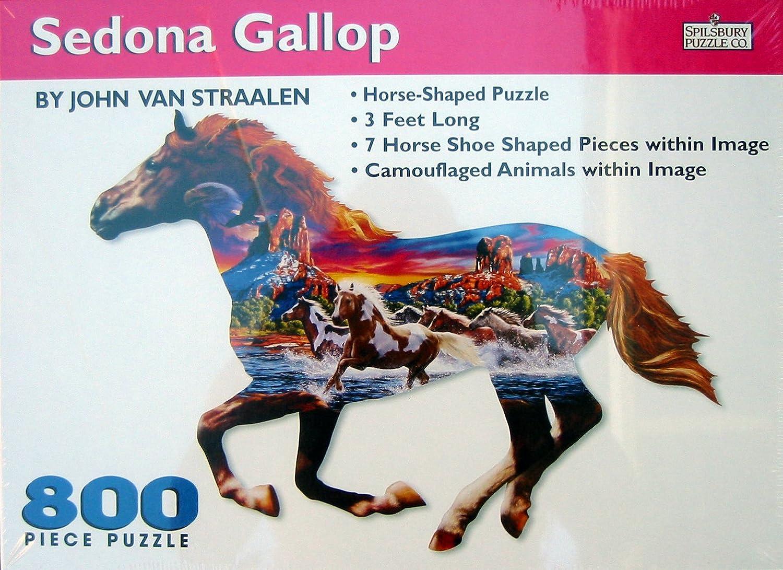 Sedona Gallop 800pc Horse Shaped Puzzle