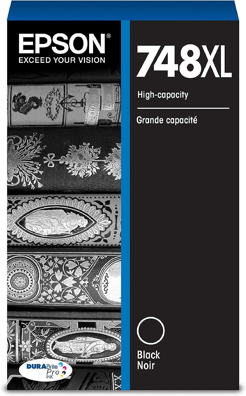Epson DURABrite Pro T748XL120 Ink Cartridge - High Capacity Black