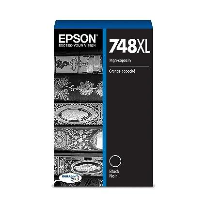 Epson 748 Pro DURABrite cartucho de tinta negro de alta ...