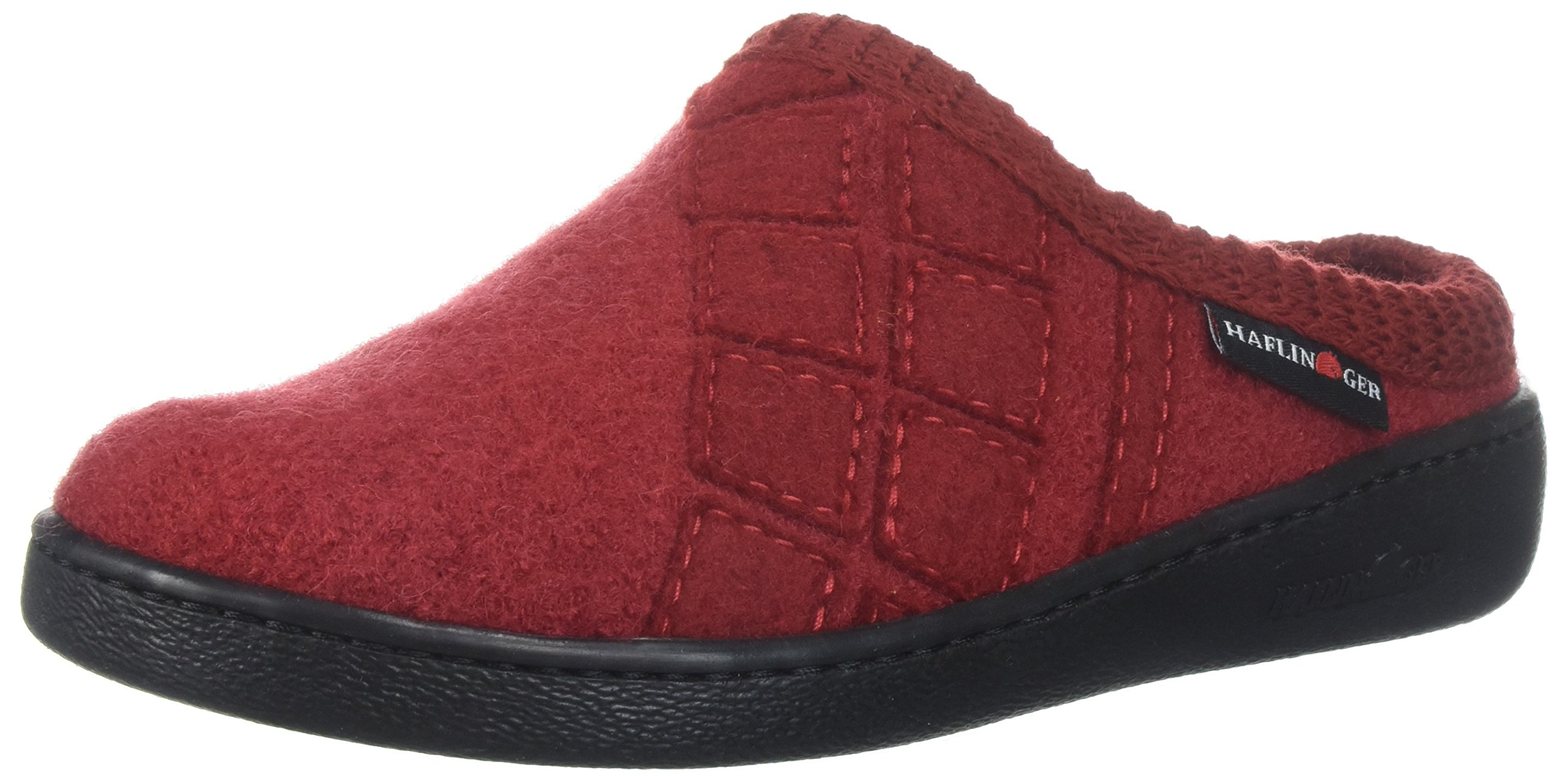 Haflinger Women's AT Tahoe Slip On Slipper, Paprika, 42 EU/11 M US