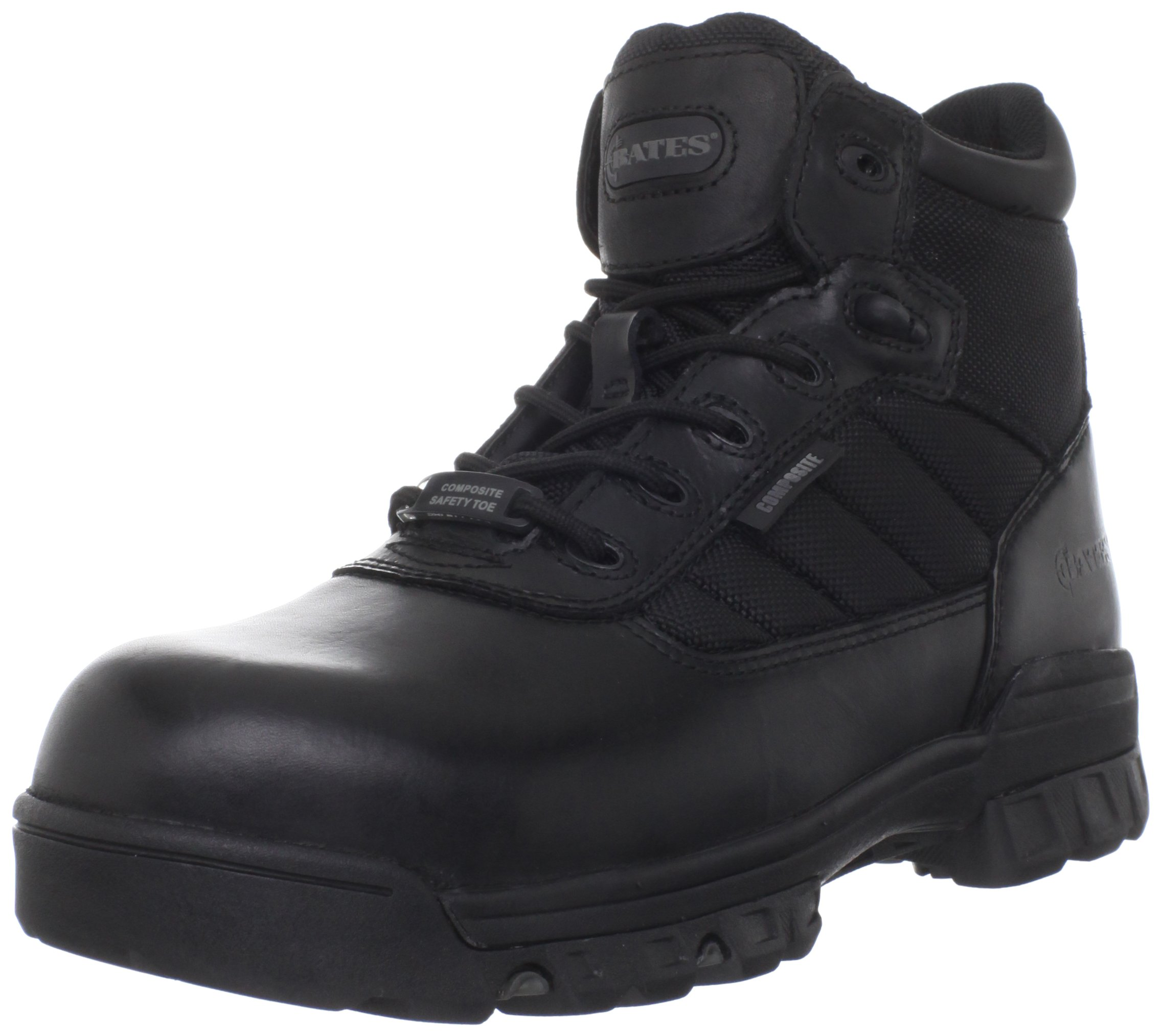 Bates Men's 5 Inches Ultra Lites Comp Toe Work Boot,Black,5 M US