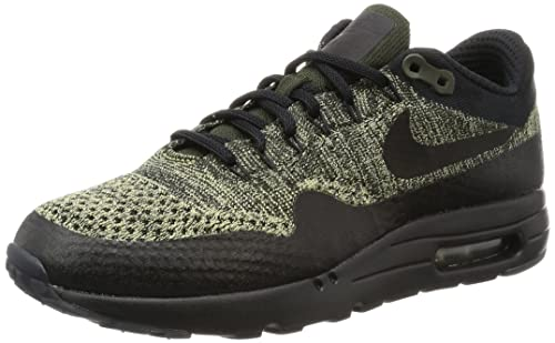 9fee1487a8cba Nike Air Max 1 Ultra Flyknit Men s Shoes Neutral Olive Black Sequoia 856958-