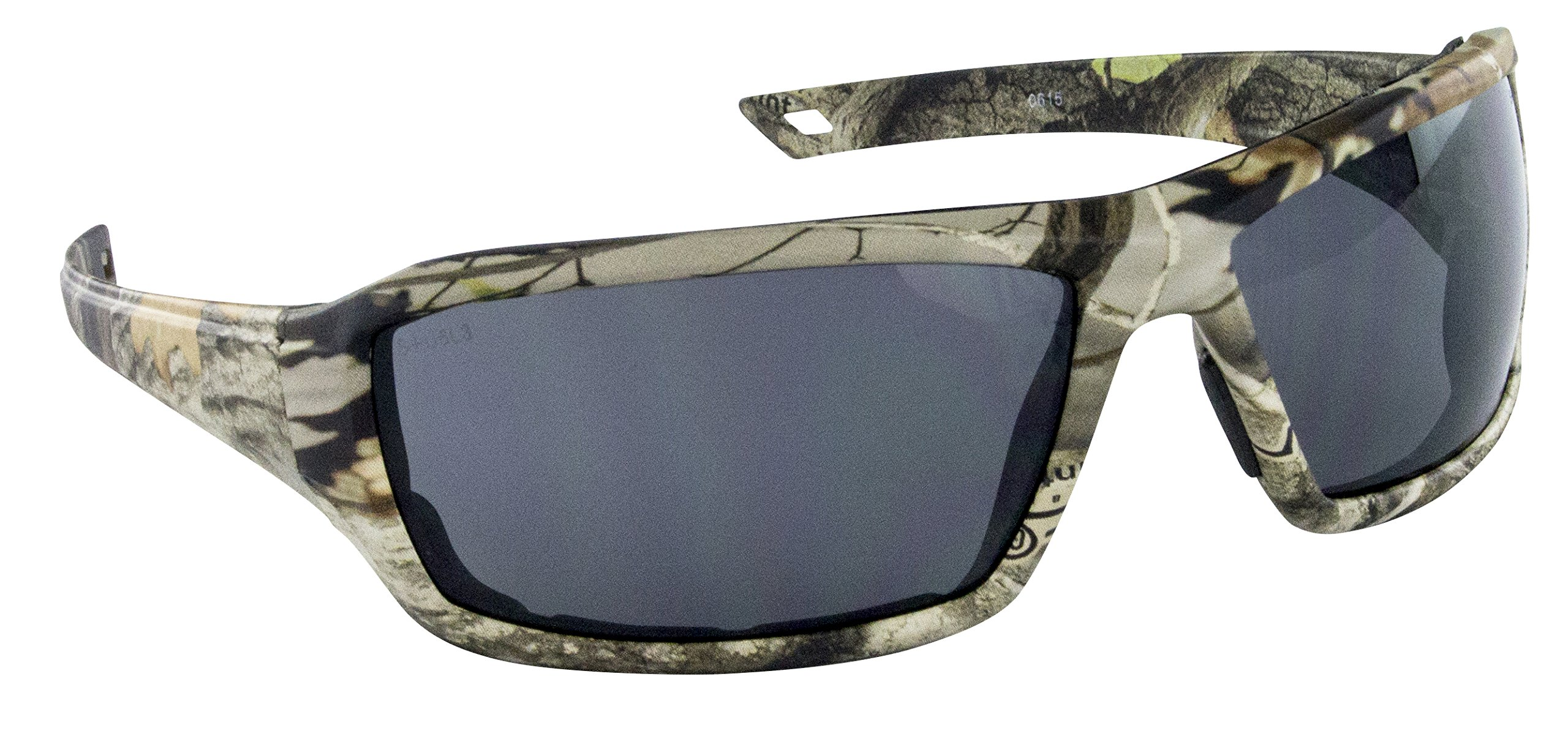 SAS Safety 5550-02 Camo Safety Glasses with Grey Lens, Dry Forest