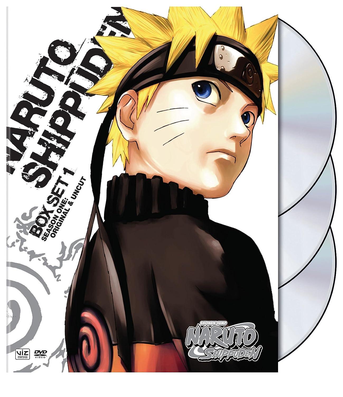 Amazoncom Naruto Shippuden Set One Naruto Shippuden Movies TV