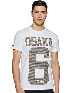 Superdry Osaka Tee T Shirt Homme: : Vêtements et