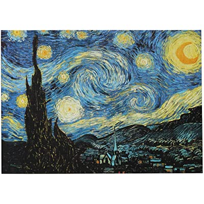 Puzzle for Adults 1000 Piece Jigsaw Puzzle Toys,Van Gogh Starry Night, Pressure Relief for Adult Family Fun Puzzle Games(1000 Pieces): Toys & Games