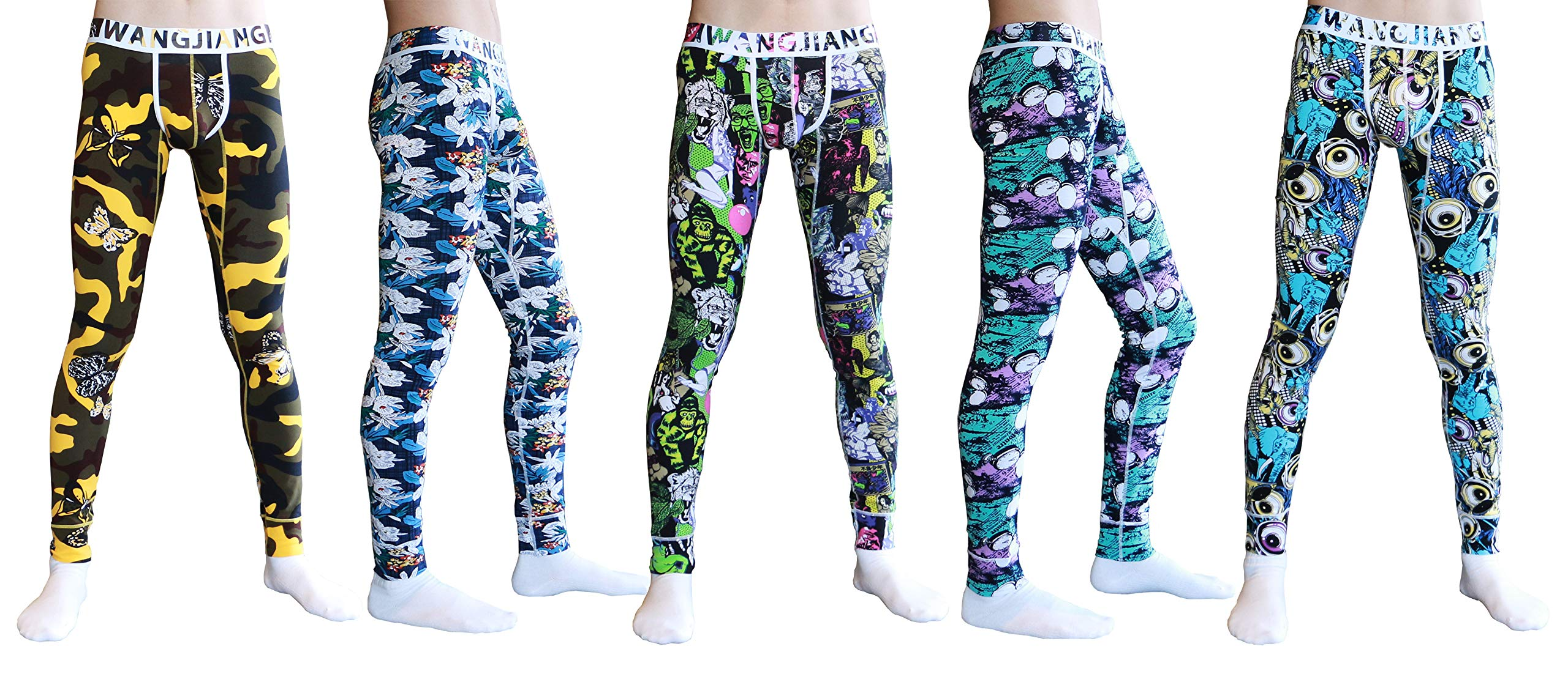 ARCITON Men's Low Rise Leggings Long Johns Thermal Pant US XL/with Tag XXL(Waist: 38''- 40'') 3027cku 5 Colors by ARCITON