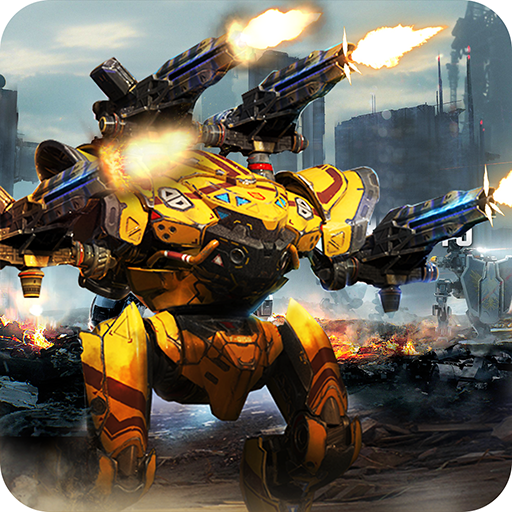 Robots War - World of tanks vs robot battle game