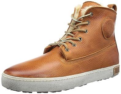 b3180f092e Blackstone Worker on Foxing GM06, Sneakers Hautes Homme, Marron (Amber), 44