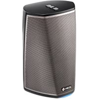 Denon HEOS 1 HS2 New Hi-Res Audio, Compact, Portable Wireless Bluetooth Speaker with Amazing Sound (Updated Version), Black, works with Alexa, 5.08 x 7.44 x 5.04