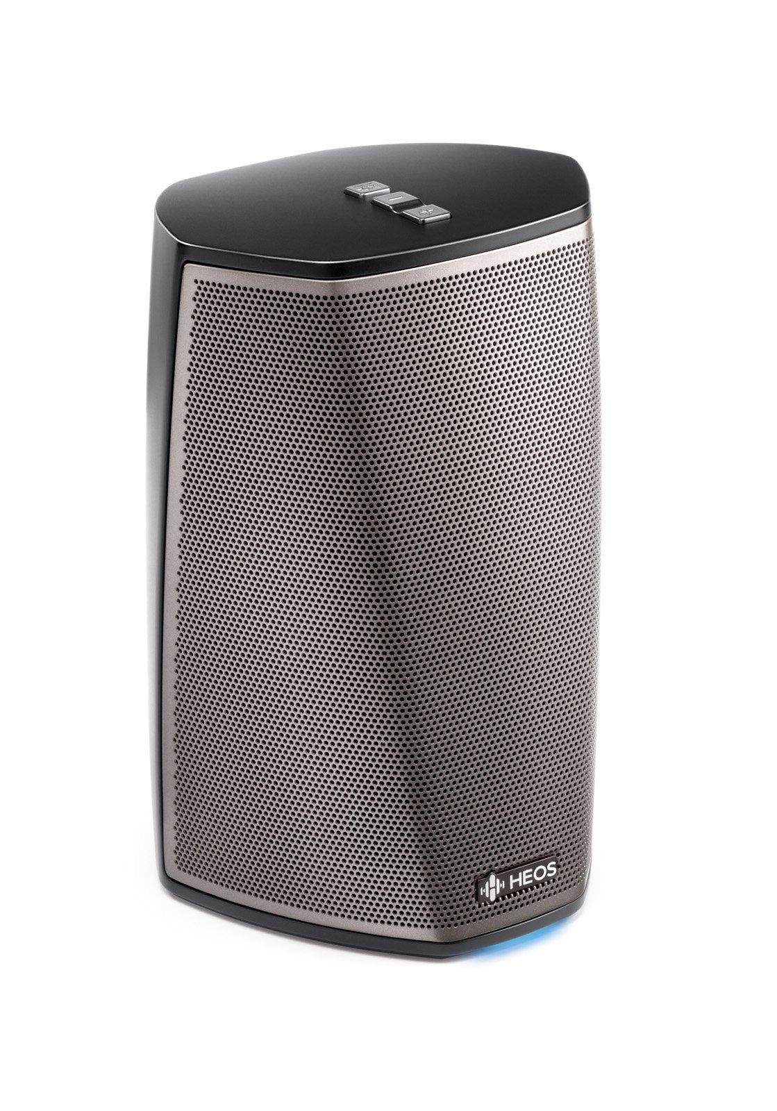 Denon HEOS 1 HS2 Wireless Speaker (Black) (New Version), Works with Alexa