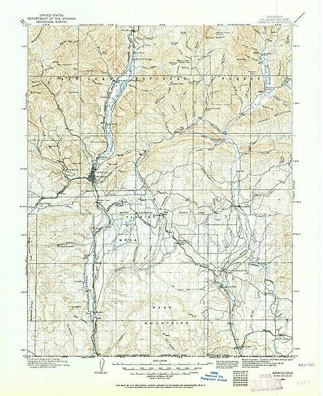 Amazon Com Yellowmaps Ignacio Co Topo Map 1 125000 Scale 30 X 30