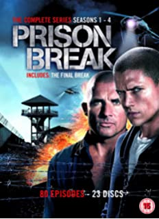 Prison Break - Season 4 (plus Final Break) [DVD]: Amazon.co.uk ...