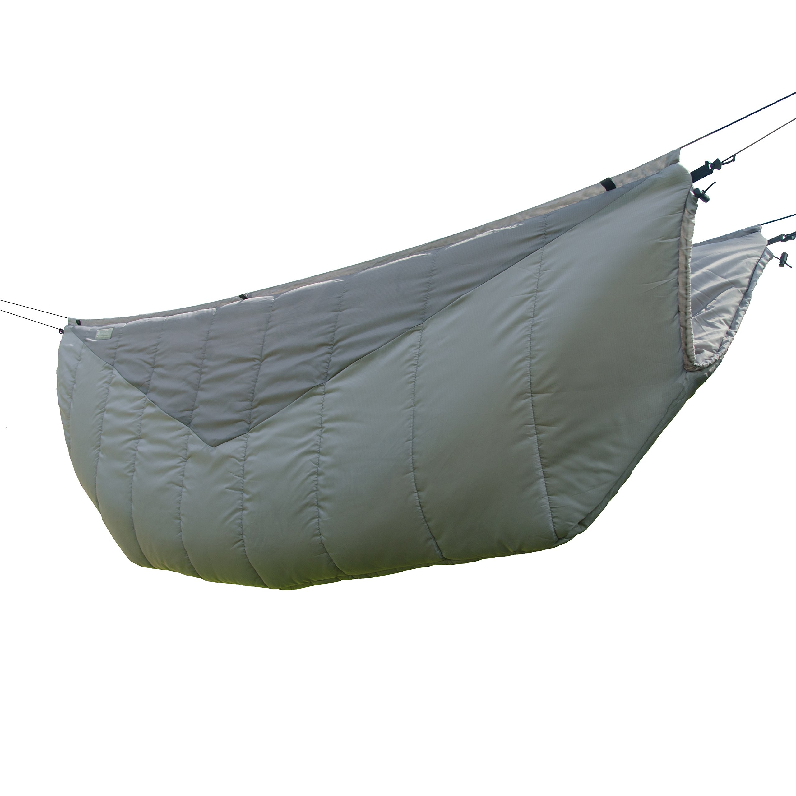 Go Outfitters The Adventure Under Quilt, Hammock Camping Insulation (Slate Gray) by Go Outfitters