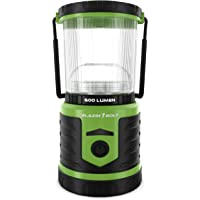 Blazin' Bison Battery LED Rechargeable Lantern | 500 Hour Runtime | Power Bank | Storm Light (600 Lumen, Green)