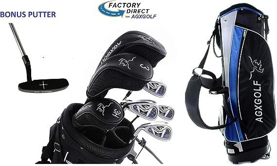 AGXGOLF Ladies Left Hand Magnum XLT Complete Golf Club Set w/Ladies Bag & Free Putter: Petite