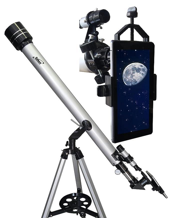 150 opinioni per Seben 900-60 Telescopio rifrattore con Big Pack incluso + Seben Adattatore