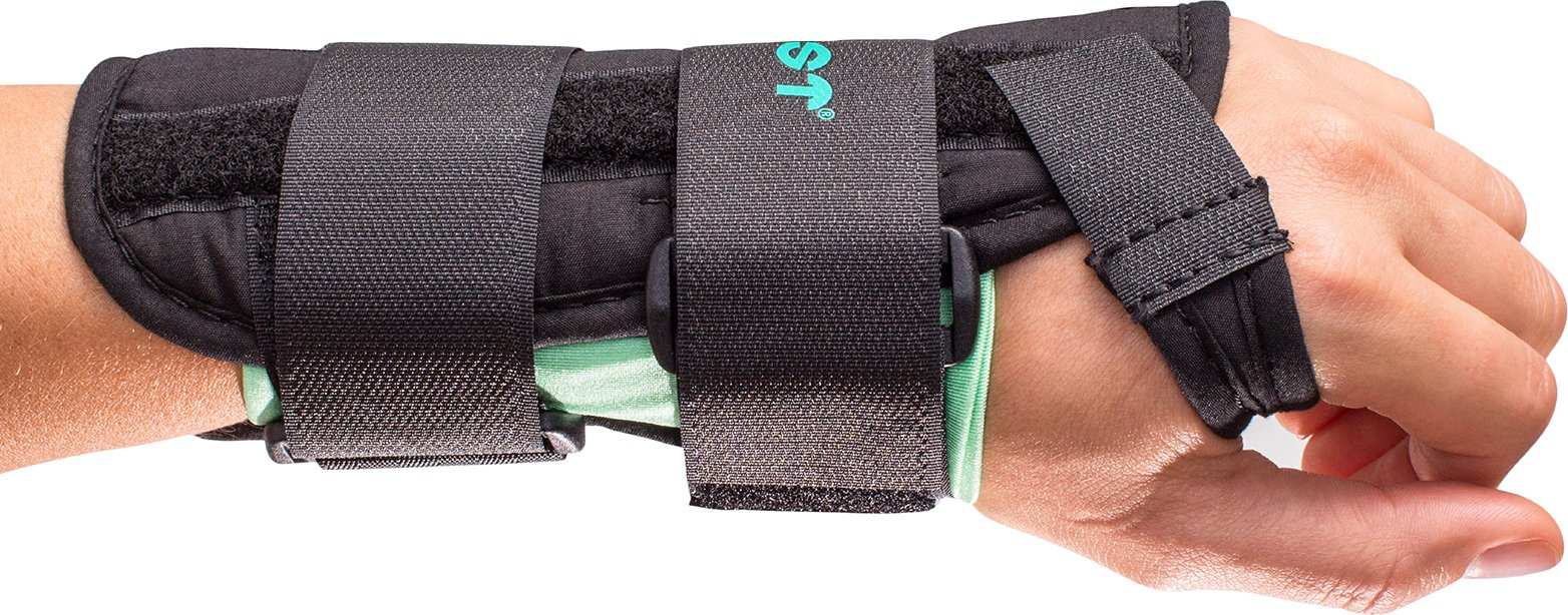Aircast A2 Wrist Support Brace without Thumb Spica: Left Hand, Medium