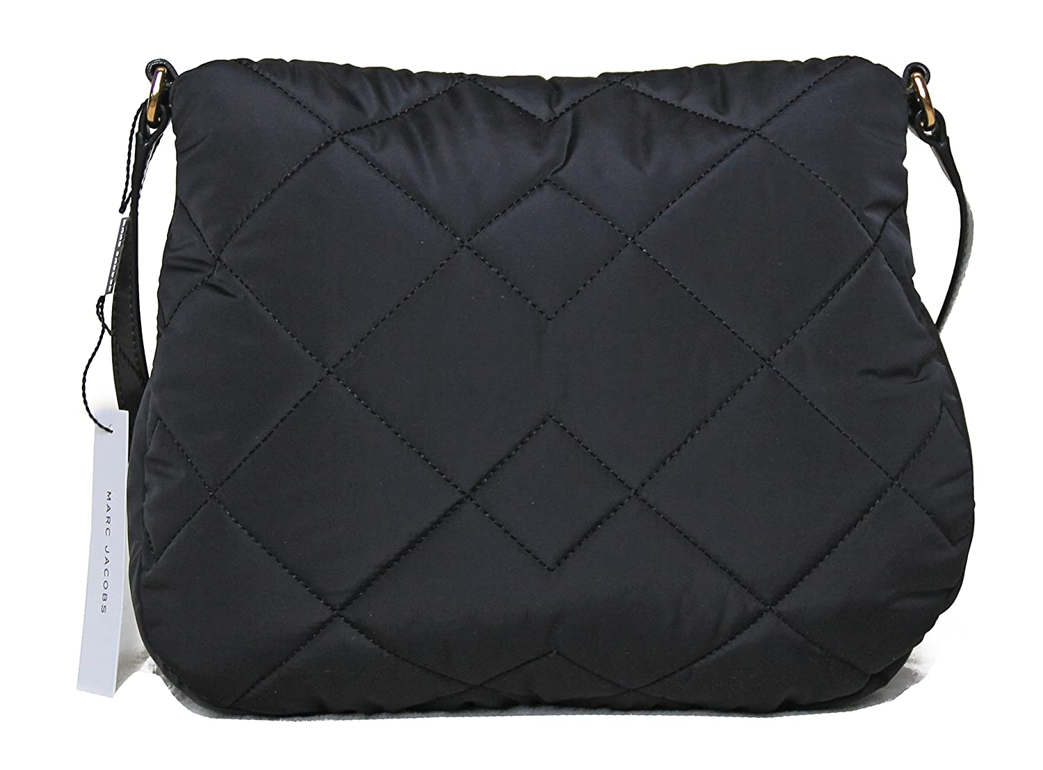 101b4dca08e2 Marc by Marc Jacobs Natasha Quilted Nylon Crossbody Handbag (Black)   Amazon.ca  Shoes   Handbags