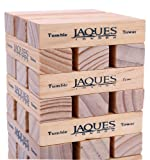 Luxury Indoor Tumble Tower - Classic - Builds up to 1ft Tall During Play - Jaques of London