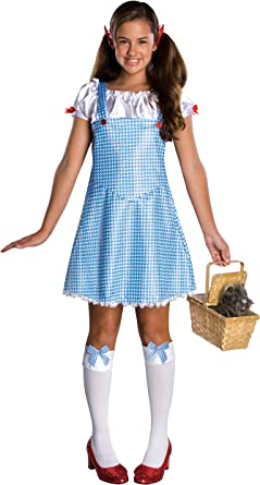 Dorothy Wizard of Oz girls Halloween costume dress