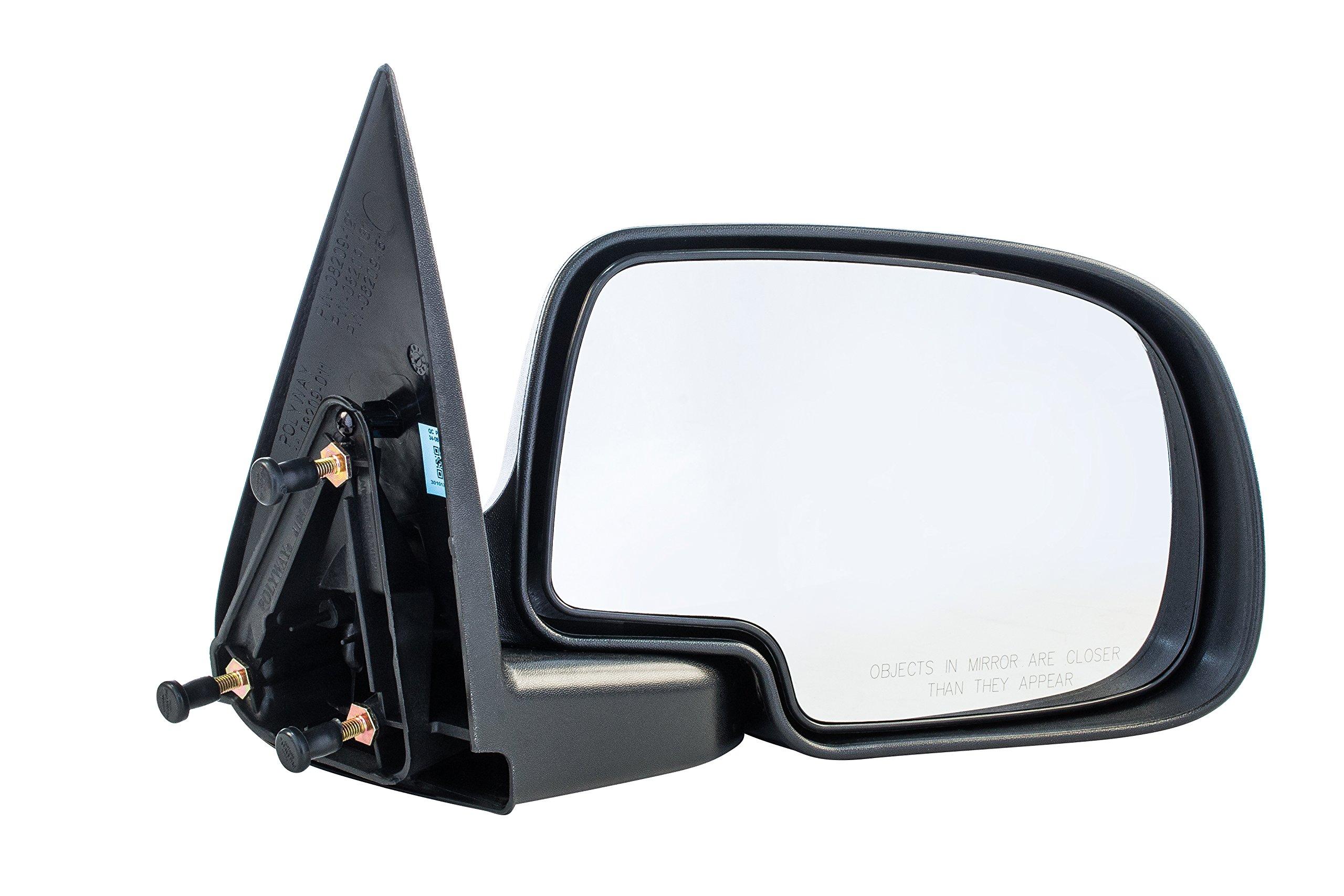 Passenger Side Mirror Cadillac Escalade Chevy Silverado GMC Sierra Yukon Textured Non-Heated Folding Right Outside Rear View Replacement Door Mirror (1999 2000 2001 2002 2003 2004 2005 2006 2007)