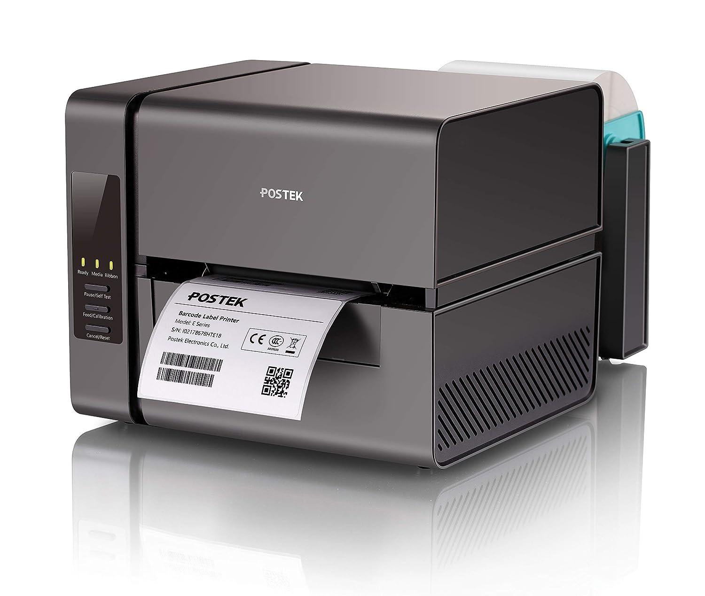 Amazon com : POSTEK Small Lable Printer Deskop Lable Makers