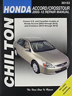 honda accord 2003 thru 2011 hayne s automotive repair manual rh amazon com 2004 Honda Accord ManualDownload haynes manual honda accord 2001