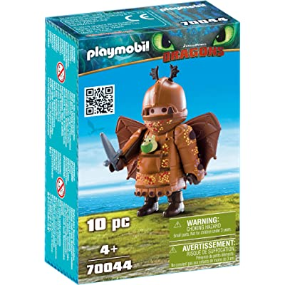 PLAYMOBIL : Dragons Fishlegs with Flight Suit: Toys & Games