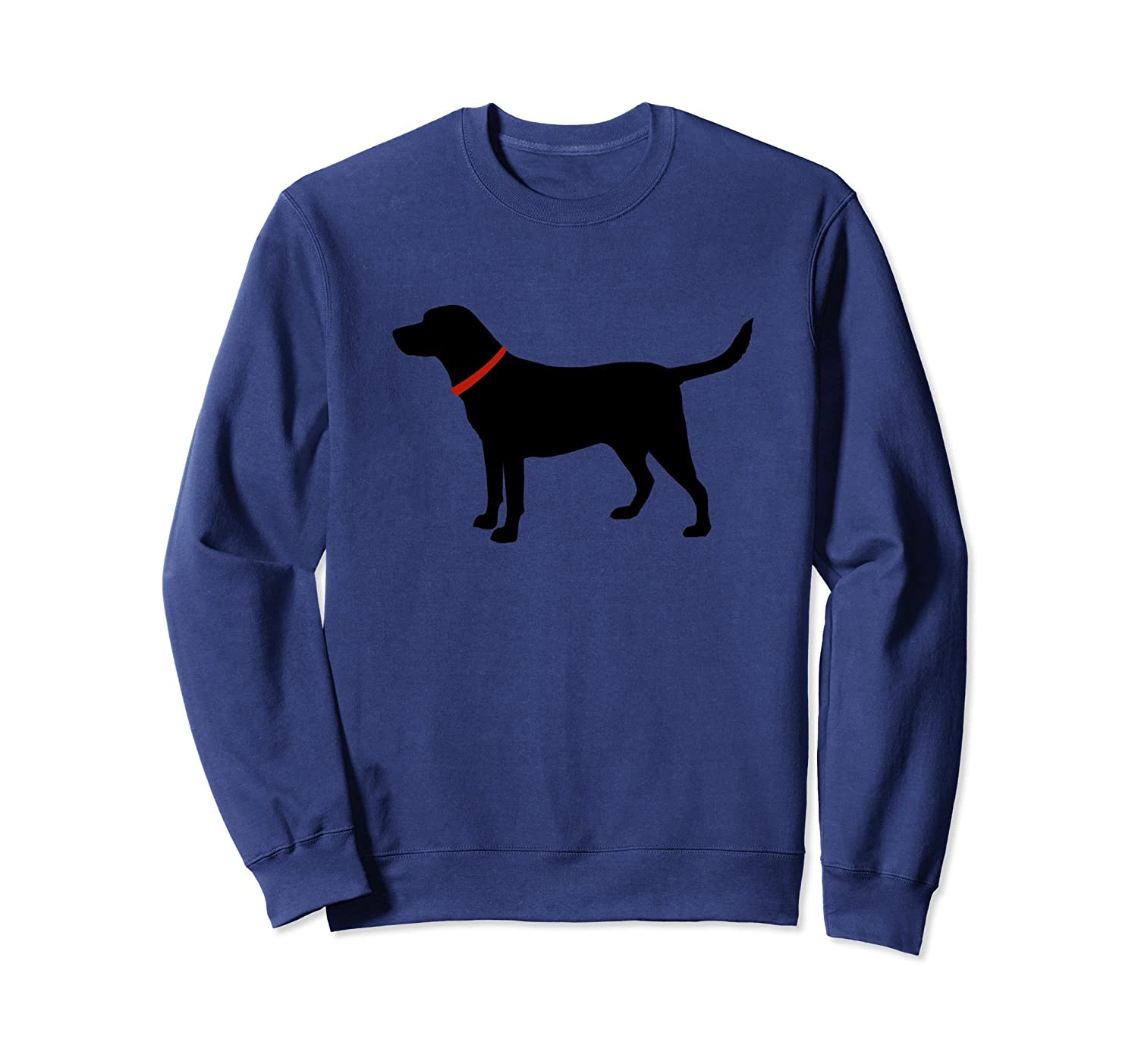 Labrador Retriever Sweatshirt Black Lab Lover-fa