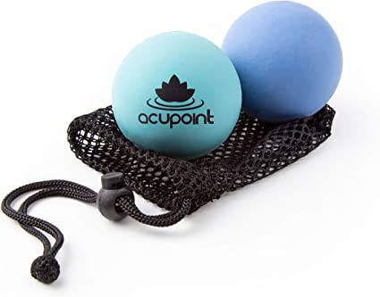 Acupoint Physical Massage Therapy Ball Set - Ideal for Yoga, Deep Tissue Massage, Trigger Point Therapy and Myofascial Release Physical Therapy ...