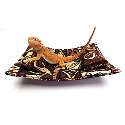Chaise Lounge for Bearded Dragons, Tanzania Mozaic Fabric: Kitchen & Dining