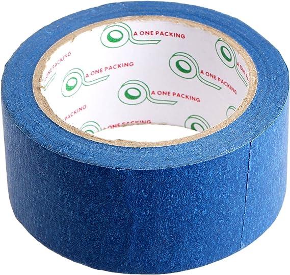 Cinta adhesiva de impresión de cinta azul de 30 m x 48 mm para ...