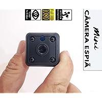 Micro Câmera Espiã Wi-fi Ip - Grava Vídeos - Acesso Remoto veja em tempo real pelo celular